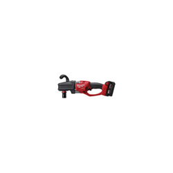Milwaukee® 2708-22 M18 FUEL™ HOLE HAWG® Cordless Right Angle Drill Kit, 7/16 in QUIK-LOK™ Chuck, 18 VDC, 650 ft-lb, 0 to 1200 rpm No-Load, 17 in OAL, Lithium-Ion Battery