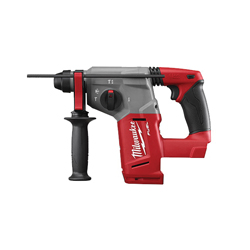 Milwaukee® 2712-20 M18™ FUEL™ Cordless Rotary Hammer Drill, 1 in Keyless/SDS Plus Chuck, 18 VDC, 1400 rpm No-Load, Lithium-Ion Battery