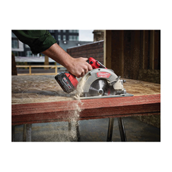 Milwaukee® 2731-21 M18™ FUEL™ Cordless Circular Saw Kit, 7-1/4 in Blade, 5/8 in Arbor/Shank, 18 VDC, Lithium-Ion Battery
