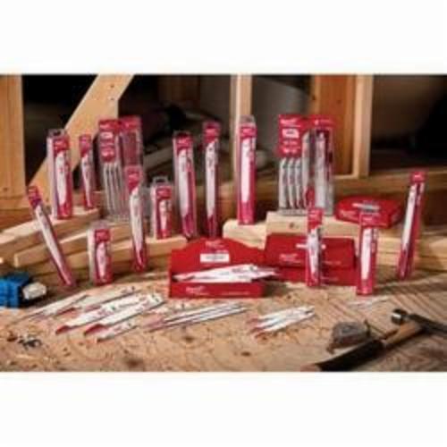 Milwaukee® 48-01-7021 SAWZALL® The Ax™ Demo Profile Reciprocating Saw Blade, 6 in L x 1 in W, 5 TPI, Bi-Metal Body, Universal Tang