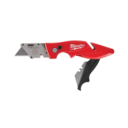 Milwaukee® 48-22-1902 Flip Utility Knife With Storage, Double Sided Blade, 2 Blades Included, Carbon Steel Blade, 7-1/4 in OAL