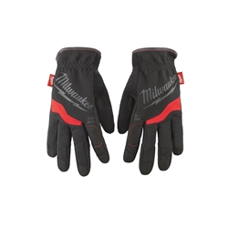 Milwaukee® 48-22-8712 General Purpose Work Gloves, L, Black/Red, High Dexterity Finger Tip, Synthetic Leather