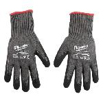 Milwaukee® 48-22-8952 Breathable Unisex Cut Resistant Gloves, L, Nylon, Knit Cuff, Resists: Cut and Puncture, ANSI Cut-Resistance Level: A5