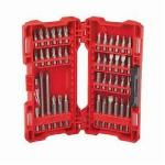 Milwaukee® 48-32-1551 SHOCKWAVE™ Drive and Fasten Set, 42 Pieces, S2 Tool Steel