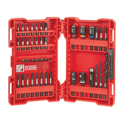 Milwaukee® Shockwave™ 48-32-4006 Drill and Drive Set, 40 Pieces
