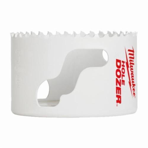Milwaukee® Hole Dozer™ Ice Hardened™ 49-56-0197 Hole Saw, 3-5/8 in Dia, 1-5/8 in D Cutting, 5/8-18 Arbor