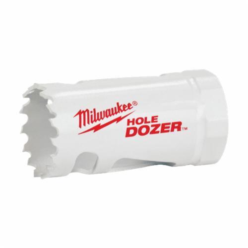 Milwaukee® Ice Hardened™ 49-56-0072 Hole Dozer™ 49-56 Hole Saw, 1-3/8 in Dia, 1-5/8 in D Cutting, Bi-Metal/8% Cobalt Cutting Edge