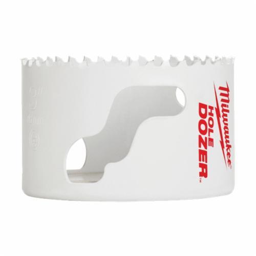 Milwaukee® Ice Hardened™ 49-56-0153 Hole Dozer™ 49-56 Hole Saw, 2-9/16 in Dia, 1-5/8 in D Cutting, Bi-Metal/8% Cobalt Cutting Edge