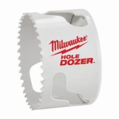 Milwaukee® Ice Hardened™ 49-56-0207 Hole Dozer™ 49-56 Hole Saw, 3-7/8 in Dia, 1-5/8 in D Cutting, Bi-Metal/8% Cobalt Cutting Edge