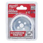 Milwaukee® Hole Dozer™ 49-56-0727 Hole Saw With Carbide Teeth, 2-1/2 in Dia, 1.62 in D Cutting, 7/16 in Arbor