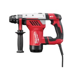 Milwaukee® 5268-21 Reversing Corded Rotary Hammer Kit, 1-1/8 in SDS Plus Chuck, 5500 bpm, 1500 rpm No-Load, 4 in Core Bit Compatibility, 1-1/8 in Solid Bit Capacity, 12-1/2 in OAL