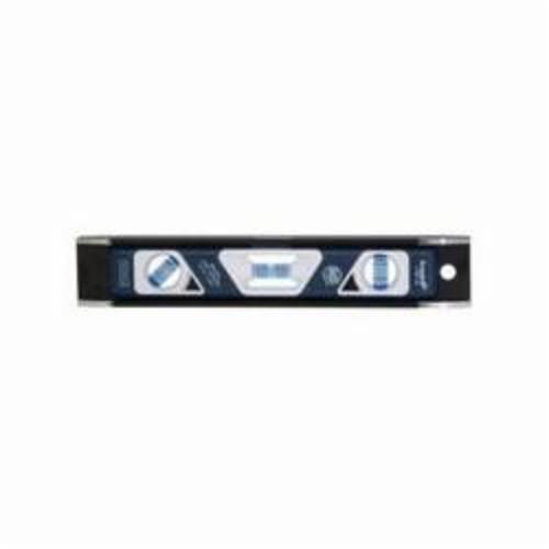 Empire® True Blue® EM81 Heavy Duty Magnetic Torpedo Level, 10 in L x 3-7/8 in W x 1 in H, 3 Vials, 0.0005 in