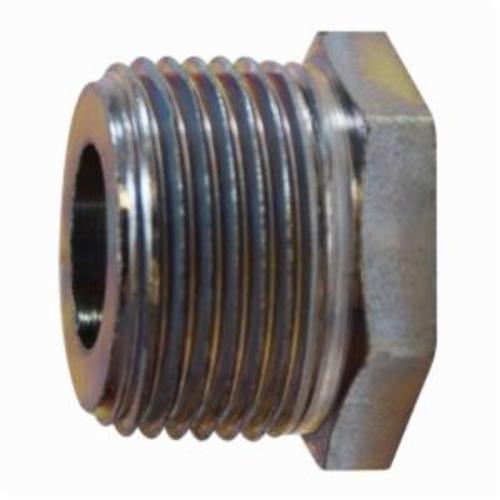 MMM 66509 Hex Bushing, 3/4 x 1/2 in, MNPT x FNPT, Steel, Domestic