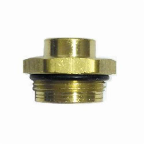 Moen® 101100 Push Button Diverter Plug, Brass, Domestic