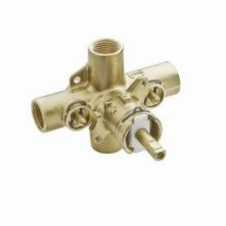 Moen® 62390 M-Pact® Rough-In Valve, 1/2 in IPS Inlet x 1/2 in IPS Outlet, Brass Body, Domestic