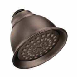 Moen® 6302ORB Standard Shower Head, 2.5 gpm, 1 Spray, Wall Mount, 4-3/8 x 3-7/16 in Head, Domestic