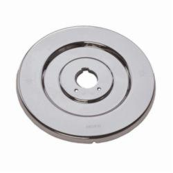 Moen® 16090 Escutcheon, For Use With Chateau® 2739 1-Handle Tub/Shower Valve Trim, Chrome Plated, Domestic, Domestic