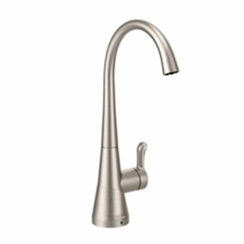 Moen® S5520SRS SIP™ Traditional Beverage Faucet, 1.5 gpm, 1 Handle, Spot Resist® Stainless Steel, Domestic