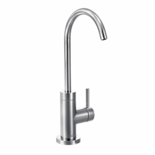 Moen® S5530 SIP™ Modern Beverage Faucet, 1.5 gpm, 1 Handle, Chrome Plated, Domestic