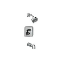 Moen® T2473EP Genta™ Posi-Temp® Tub and Shower Trim, 1.75 gpm Shower, Chrome Plated