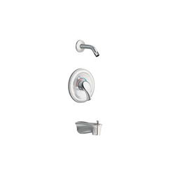 Moen® TL172NH Legend® Moentrol® Tub/Shower Trim Kit, 2.5 gpm Shower, Hand Shower Yes/No: No, Chrome Plated