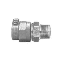 Mueller Co E-15429N 2 Straight Coupling, 2 in, IPS PE Pack Joint x MNPT