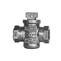 Mueller Co MARK II ORISEAL® H-10284N 1 Curb Valve, 1 in, FNPT, 175 psi, Brass Body