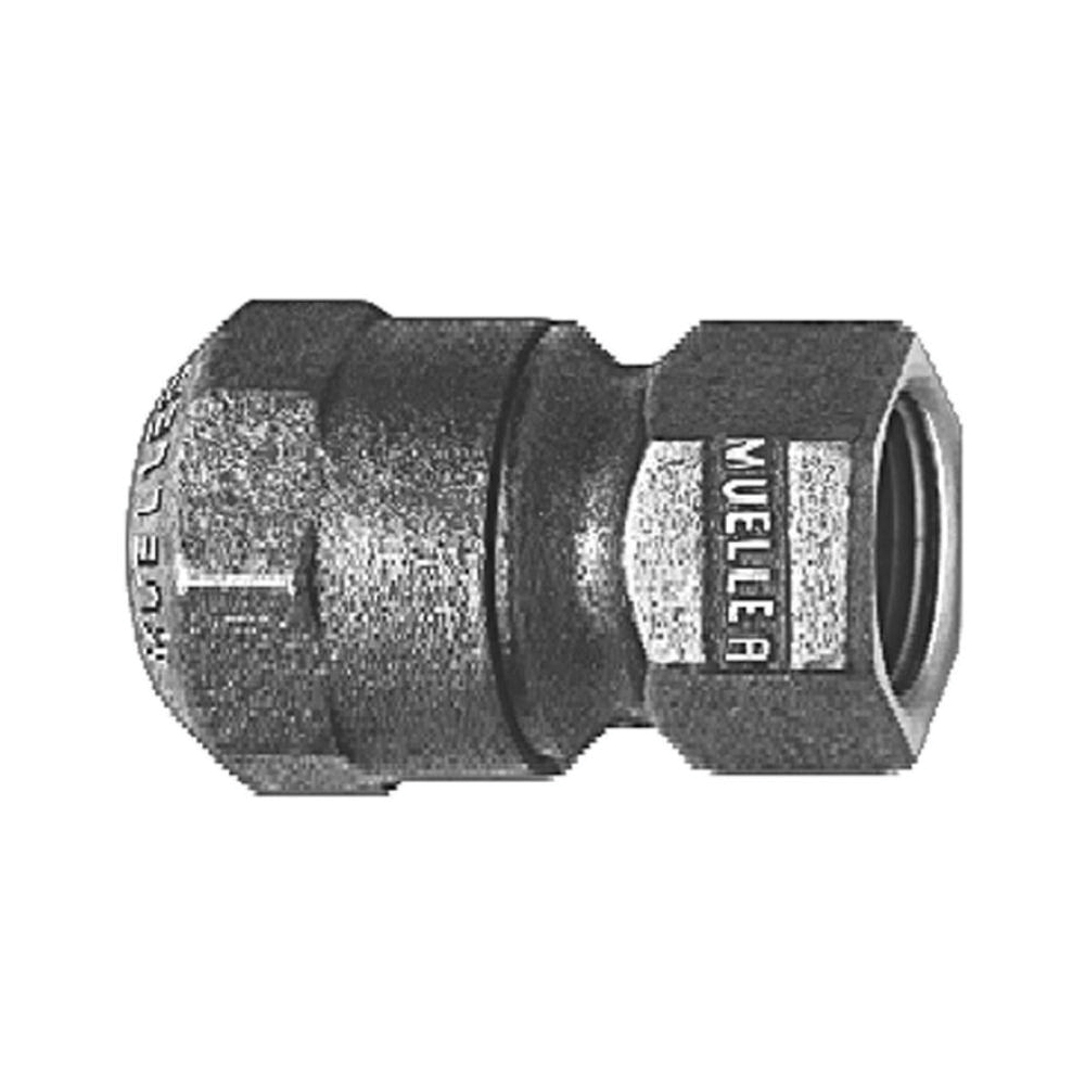 Mueller Co H-15451N 1 Straight Coupling, 1 in, 110 CTS x FNPT
