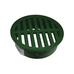 NDS® 13 Catch Basin Grate, 4-5/8 in Dia, 16.66/11.78 gpm, 4 in Pipe, Round Shape, Domestic