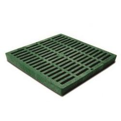 NDS® 1212 Catch Basin Drain Grate, 155.28 gpm, Square Shape, Domestic