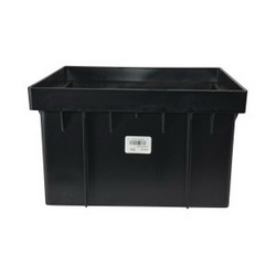 NDS® 1216 10ND Catch Basin Riser, 6 in, For Use With 12 x 12 in Catch Basin Series, Black, Domestic
