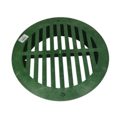 NDS® 1250 Drain Grate, 140.72 gpm, Round Shape, Domestic
