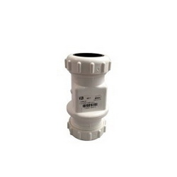 NDS® 1400-15 41CV Sump Pump Check Valve, 1-1/4 to 1-1/2 in, IPS Compression, PVC Body, Import