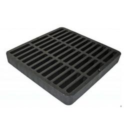 NDS® 980 Catch Basin Drain Grate, 114.69 gpm, Square Shape, Domestic