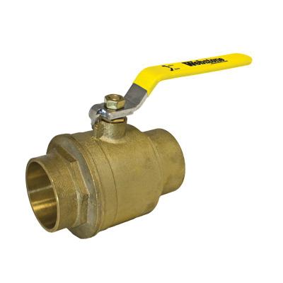 Webstone Clean Brass™ 51707 Ball Valve, 2 in, C, Brass Body, Full Port