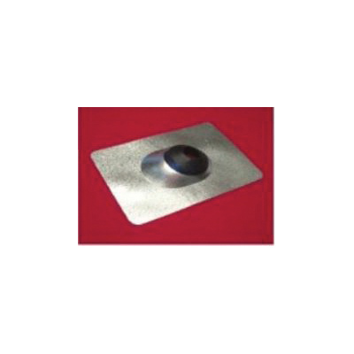 Nichols Manufacturing F-142 Roof Flashing With Flex Collar, 12 in L x 9 in W Base, 1-1/4 to 2 in Pipe, Steel