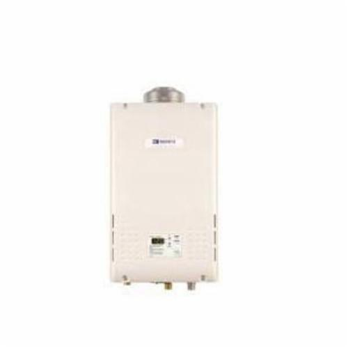 Noritz® NR98-DVC-NG Tankless Water Heater, Natural Gas Fuel, 11000 to 199900 Btu/hr Heating, Indoor/Outdoor: Indoor, 0.5 to 9.8 gpm, 3 in, 5 in Concentric Direct Vent, 0.82, Commercial/Residential/Dual: Residential, Ultra Low NOx: No