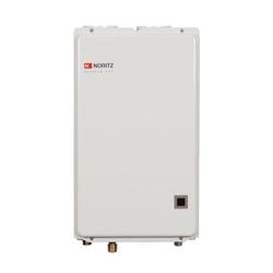 Noritz® NRC711-DV-NG High Efficiency Tankless Water Heater, Natural Gas Fuel, 15000 to 157000 Btu/hr Heating, Indoor/Outdoor: Indoor, Condensing/Non Condensing: Condensing, 0.5 to 7.1 gpm, 3 in Direct Vent, 0.89, Commercial/Residential/Dual: Residential