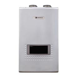 Noritz® EcoTOUGH™ NRCP1112-DV-LP Tankless Water Heater, Liquid Propane Fuel, 18000 to 199000 Btu/hr Heating, Indoor/Outdoor: Indoor, Condensing/Non Condensing: Condensing, 0.5 to 11.1 gpm, 2 in, 3 in Direct Vent, 0.94, Ultra Low NOx: No