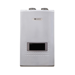 Noritz® NRCP1112-DV-NG Tankless Water Heater, Natural Gas Fuel, 18000 to 199000 Btu/hr Heating, Condensing/Non Condensing: Condensing, 0.5 to 11.1 gpm, Direct Vent, 0.94, Commercial/Residential/Dual: Residential, Ultra Low NOx: No