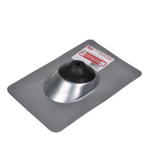 Oatey® No-Calk® 11830 Roof Flashing, 12-1/2 in L x 9 in W Base, 1/2 to 1 in Pipe, Steel