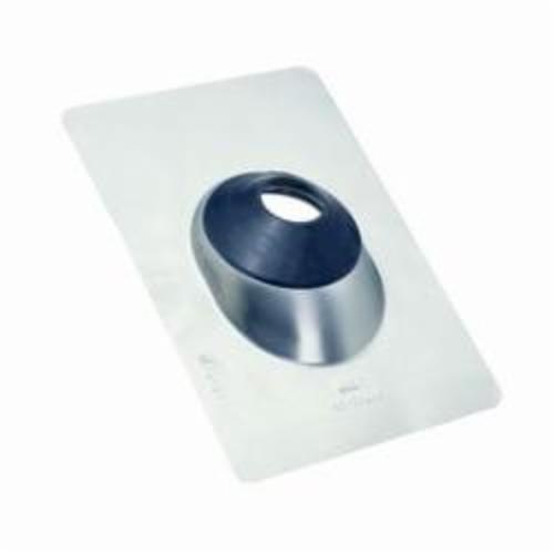 Oatey® All-Flash® No-Calk® 12945 Roof Flashing, 14-1/2 in L x 11 in W Base, 1-1/2 to 3 in Pipe, Aluminum