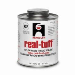 Hercules® Real Tuff™ 15625 Heavy Duty Multi-Purpose Thread Sealant, 1 pt Can, Solid, White, 1.56