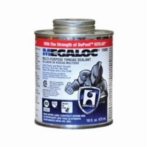 Hercules® Megaloc® 15808 High Performance Thread Sealant, 16 oz Can, Liquid Paste, Blue