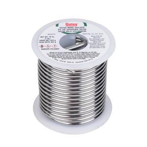Oatey® 20015 Silver Wire Solder, 361 to 460 deg F Melting, 1 lb, Alloy