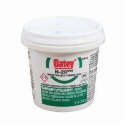 Oatey® H-20®95 30142 Water Soluble Tinning Flux, 8 oz, Pail, 7 g/L VOC, 20000 to 40000 cP, 3 to 4