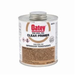Oatey® 30753 Primer, 32 oz, For Use With PVC and CPVC Pipe and Fitting, Clear