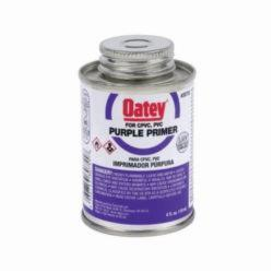 Oatey® 30755 Primer, 4 oz Pail, For Use With PVC and CPVC Pipe and Fitting, Purple