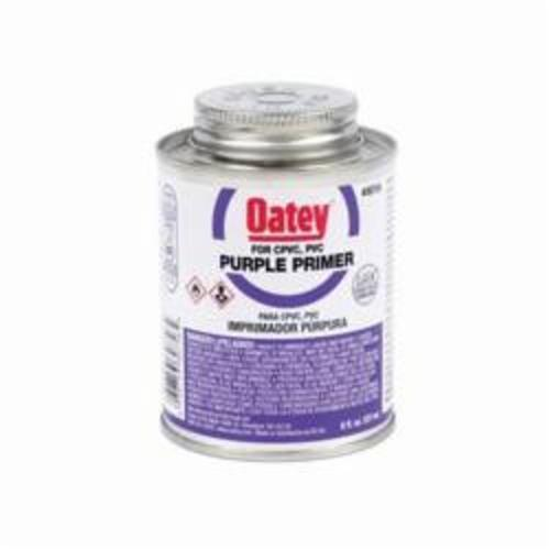 Oatey® 30756 Primer, 8 oz Pail, For Use With PVC and CPVC Pipe and Fitting, Purple