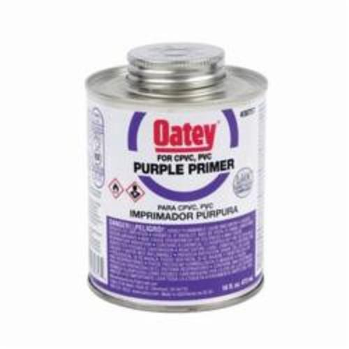 Oatey® 30757 Primer, 16 oz Pail, For Use With PVC and CPVC Pipe and Fitting, Purple